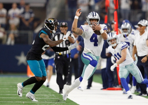 Will Cowboys OC Scott Linehan keep calling run plays for QB Dak Prescott? 'We have to continue to aspire to do that'