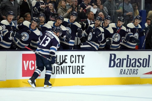 QuickCap Game #6: Atkinson, Third Period Flurry Lead Blue Jackets Past Flyers, 6-3