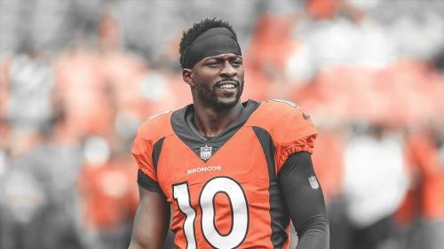Video: Broncos WR Emmanuel Sanders throws touchdown pass against Cardinals