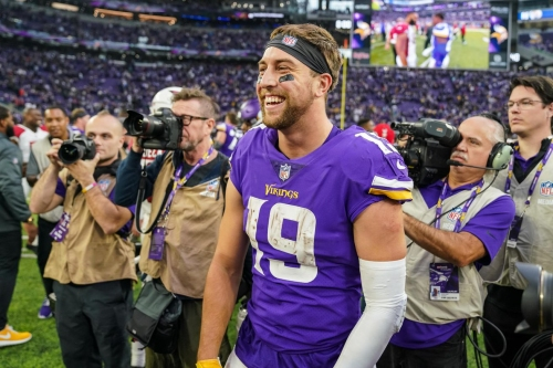 Adam Thielen doesn't worry about his stats, he wants to win