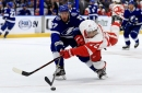 Detroit Red Wings show poise despite 3-1 loss to Tampa Bay Lightning