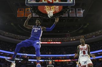 Simmons triple-double leads 76ers past Bulls 127-108