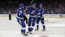 Stamkos gets 1st goal, Lightning beat winless Red Wings