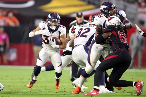 WATCH: Broncos' Phillip Lindsay's 28-yard touchdown run vs. Arizona Cardinals