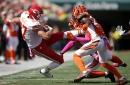 Cincinnati Bengals struggled defending Steelers tight ends. Travis Kelce is next
