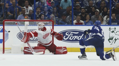 Diana C. Nearhos' takeaways from Thursday's Lightning-Red Wings game