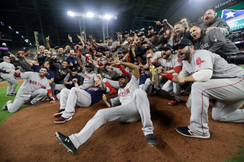 Ex-Rangers Mitch Moreland, Ian Kinsler headed back to World Series as Red Sox finish off Astros