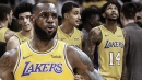 Lakers news: What LeBron James told Lakers teammates in one of their first on-court huddles