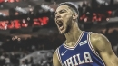 Ben Simmons becomes 1st player in franchise history to record a triple-double in a home opener