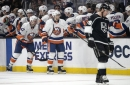Jonathan Quick's return is no help as Kings are routed by Islanders