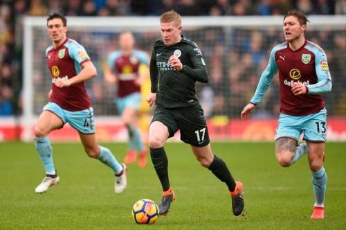 Burnley midfielder makes Man City and Kevin de Bruyne claim