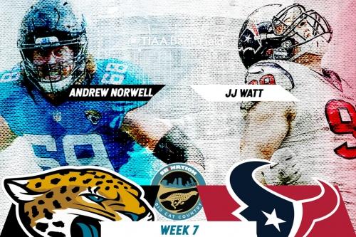 Jaguars vs. Texans primer: Key matchups, storylines, predictions, and more for Week 7