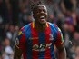 Wilfried Zaha in contention to return for Crystal Palace this weekend