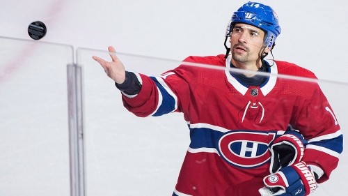 Canadiens' Tomas Plekanec out vs. Senators with lower-back injury
