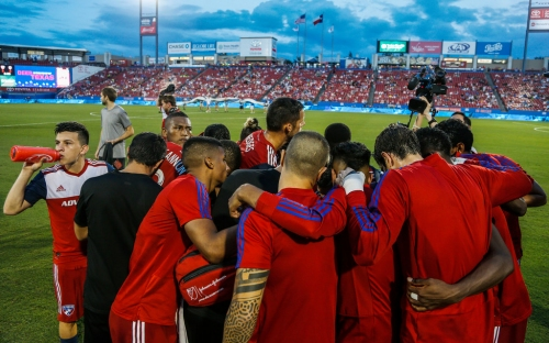 Already a playoff lock, FC Dallas isn't taking it easy: 'We have ... the possibility in our hands to control our destiny'