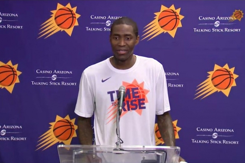 Jamal Crawford on board for whatever role Phoenix Suns coach wants