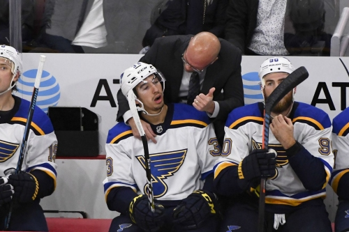 Blues coach Mike Yeo mixing things up, but is it grasping at straws?