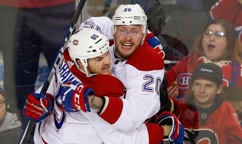 Deslauriers in, Hudon out gives Canadiens' fourth line new dimension