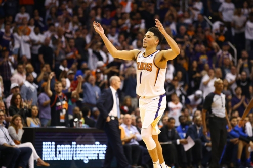 Fanning the Flames: Elbow deep into the burning flames of the resurgent Phoenix Suns