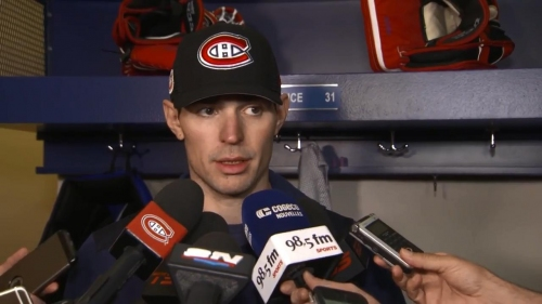Carey Price talks about potentially tying Patrick Roy in wins