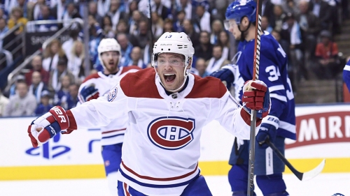 Tie Domi says cheering for son Max on the Canadiens comes naturally