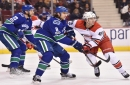 Alex Edler and Chris Tanev are getting crushed, but it appears to be by design