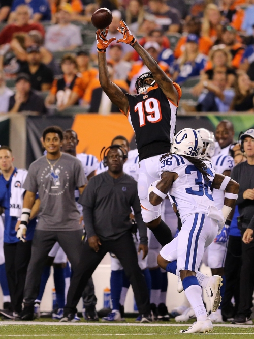 2018 NFL Cincinnati Bengals: Auden Tate clears waivers, signs with Bengals practice squad