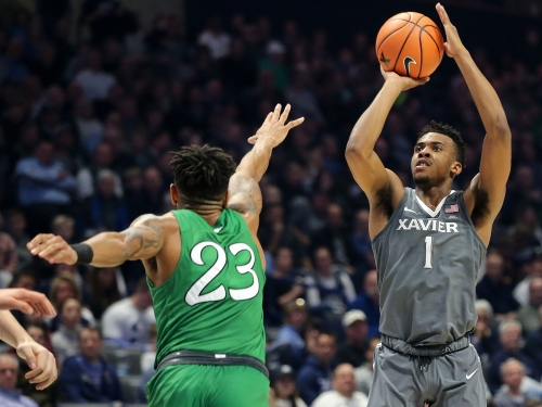 Xavier University basketball player Paul Scruggs: 'He's that guy you want in your foxhole'