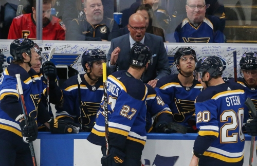 Power play humming for Blues. 5-on-5? Not so much