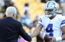 Skip and Shannon disagree on Jerry Jones 'bus driver' comment about Dak Prescott