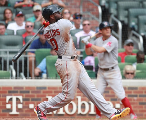 With Boston Red Sox in World Series, Brandon Phillips is four wins from first ring
