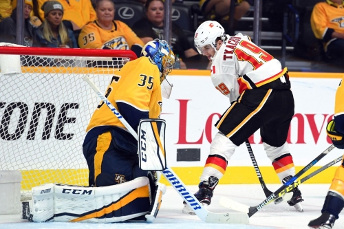 Calgary Flames at Nashville Predators [Game 7]