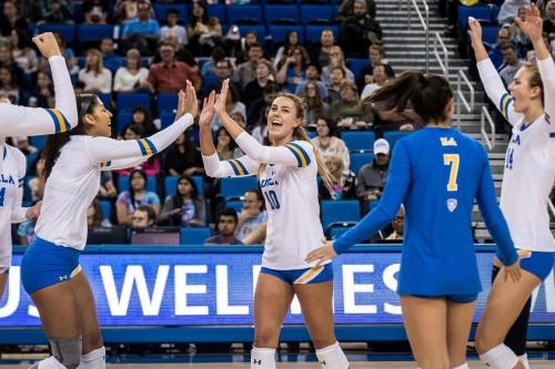 UCLA Women's Volleyball Looks to Extend Winning Streak