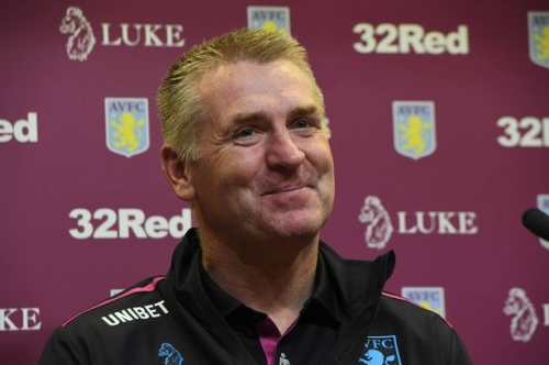 The Aston Villa team Dean Smith has selected for his game in charge