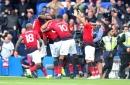 Chelsea 2 Man United 2: Tempers flare after late Ross Barkley equaliser denies Jose Mourinho's men