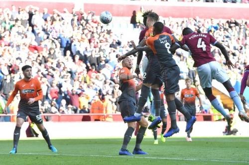 Aston Villa 1 Swansea City 0: Selection choice backfires for Potter as late fightback falls short