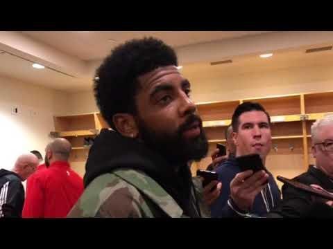 Boston Celtics' Kyrie Irving: Kawhi Leonard can put Toronto Raptors on his back