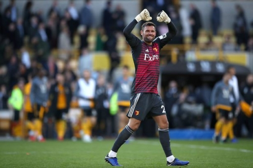 Former West Brom man Ben Foster takes cheeky swipe at Wolves