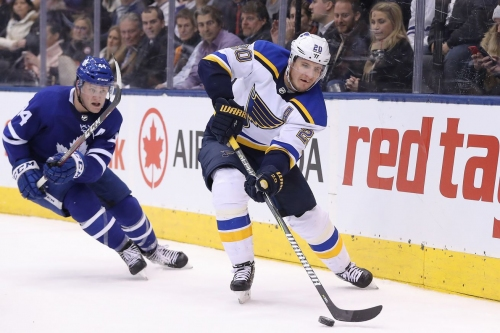 Blues at Maple Leafs gameday thread: clock's ticking