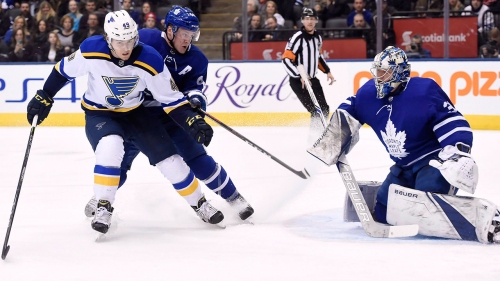 NHL Live Tracker: Maple Leafs vs. Blues