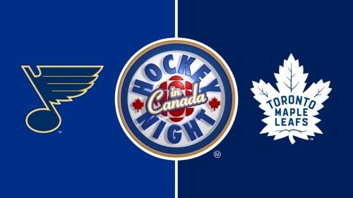 Hockey Night in Canada: Blues vs. Maple Leafs