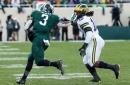 Michigan football's Devin Bush on MSU logo swipes: 'I just got caught up'