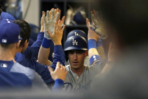 Game 7 Highlights: Dodgers' Cody Bellinger hits 2-run home run against Brewers