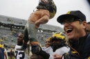 AP Top 25 Takeaways: Harbaugh has Michigan in contention