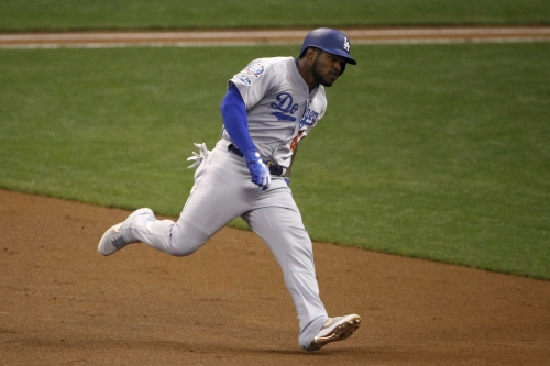 Watch Yasiel Puig add to Dodgers' lead with 3-run home run against Brewers