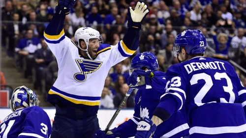 Maple Leafs suffer second straight defeat after loss to Blues