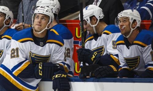 Quiet Leafs shut down by Blues