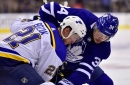 Leafs' offence stalls again in loss to Blues