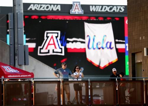 College football scoreboard: Arizona Wildcats vs. UCLA Bruins