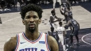 Video: Sixers' Joel Embiid hits the Magic with an elegant euro step